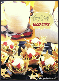 taco cups for kids party