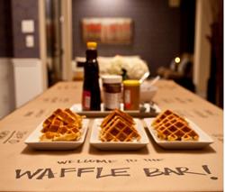kids waffle bar