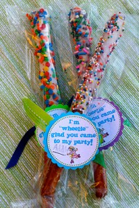 candy roller skating party favors