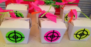 Laser Tag Party Favor Box