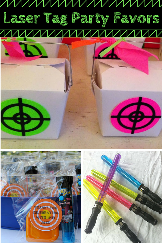 Laser Tag Party Favors