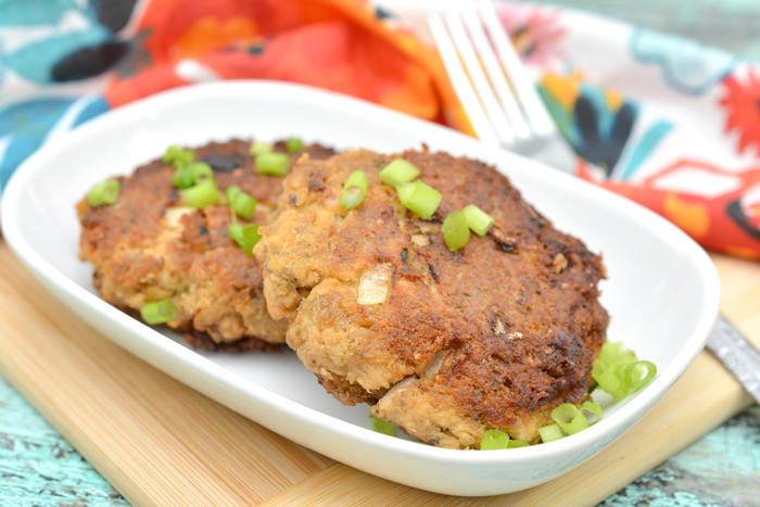 Keto Salmon Patties - Low Carb Salmon Patties with Pork Rinds – Quick & Easy Ketogenic Diet Recipe – Completely Keto Friendly