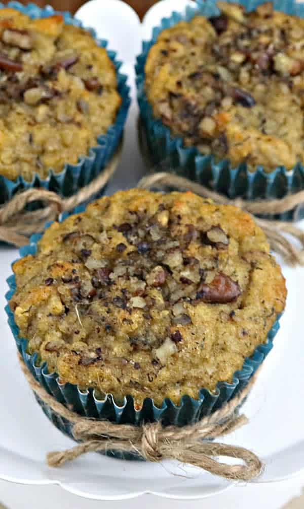 Keto Muffins_Low Carb Banana Muffins