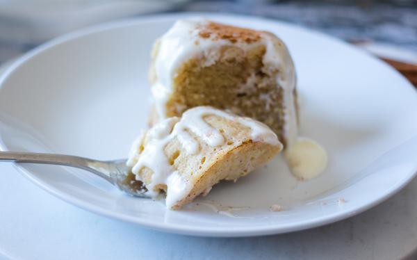 Keto Low Carb Cinnamon Roll Mug Cake