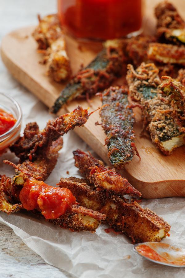 Keto Zucchini Fries - Low Carb Recipe