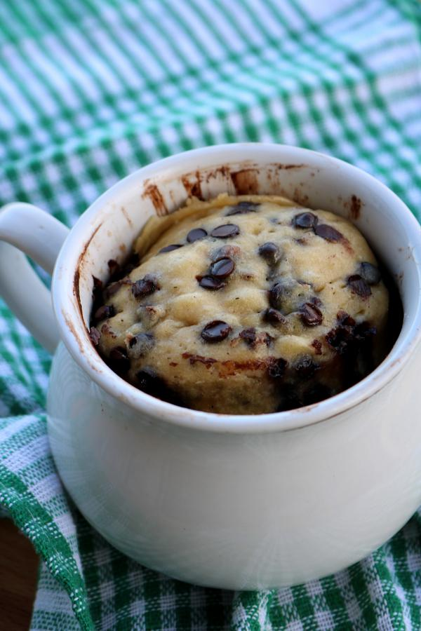 Microwave Chocolate Chip Cookie! Best Microwave Recipes In A Mug For One - Easy | Simple | Tasty Food