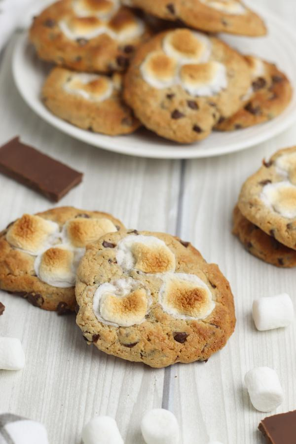 BEST Smores Cookies - Easy Homemade Cookies