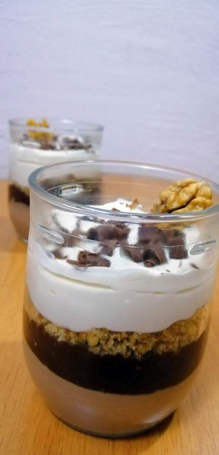 Keto Rum Coffee No-Bake Cheesecake In Jar - Low Carb Recipe